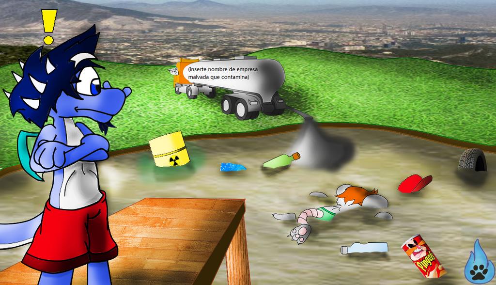 La contaminacion del agua es mala para la salud by Armandocop012