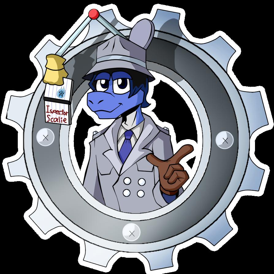 Inspector Scalie by Armandocop012