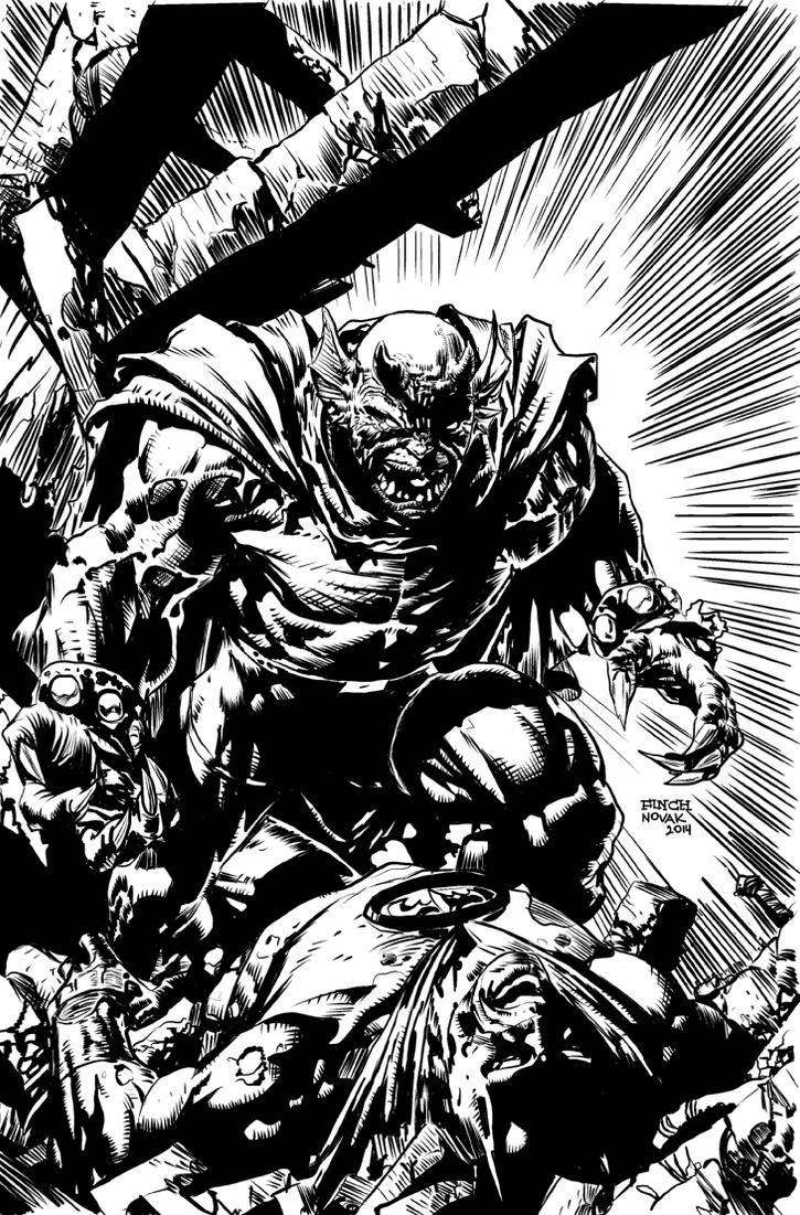 Batman vs. Etrigan  David Finch + Laz Novak by NeutronComics