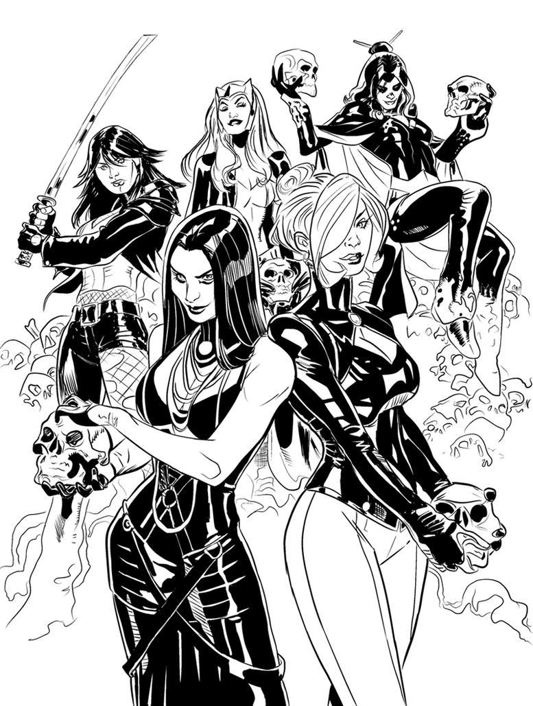 X-Men Inks by NeutronComics