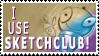 Sketchclub Stamp by SketchieCat