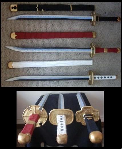 Roronoa Swords by ashandriar