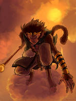 monkey king by Crowtex-lv