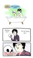 Bath time bros by brewhay