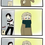 A scarf is less gay than my jumper GET OUT by brewhay