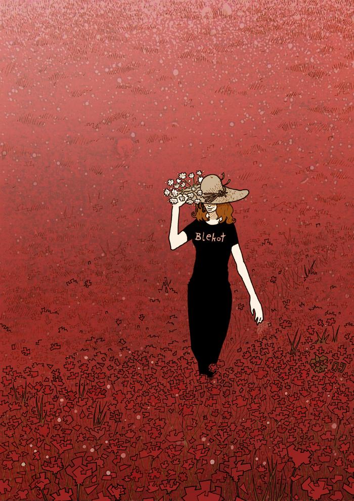 Red meadow by Eldahast