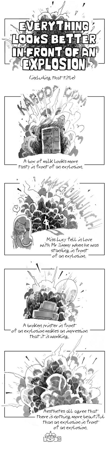 Explosion by Eldahast