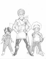 GREAT SAIYAMAN SQUAD 1 by burNiNgFro