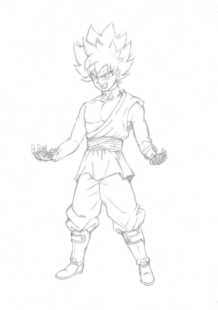 Rabuntan Burraku sketch 2 by burNiNgFro