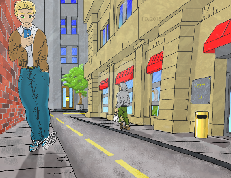 Manga Landscape - Completed by InfiniteDiversity