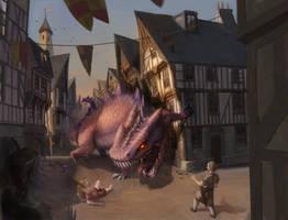 Roar of a dragon