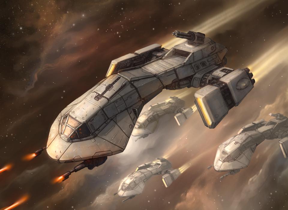 Ship #9 by yirikus