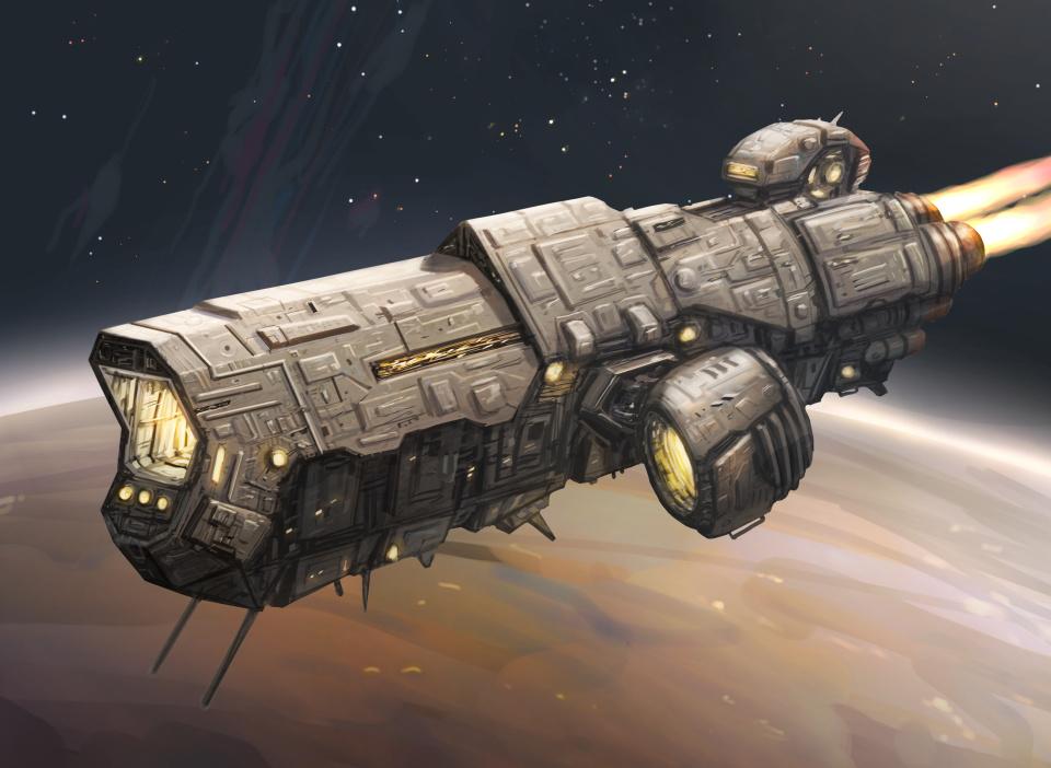 Ship #6 by yirikus
