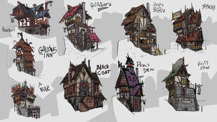 Fantasy Pubs