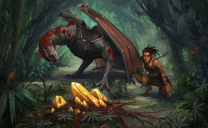 Untamed dragon rider by yirikus