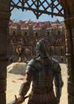 Entering Arena