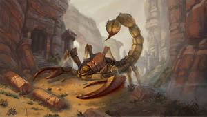 Scorpid guardian of Arnak