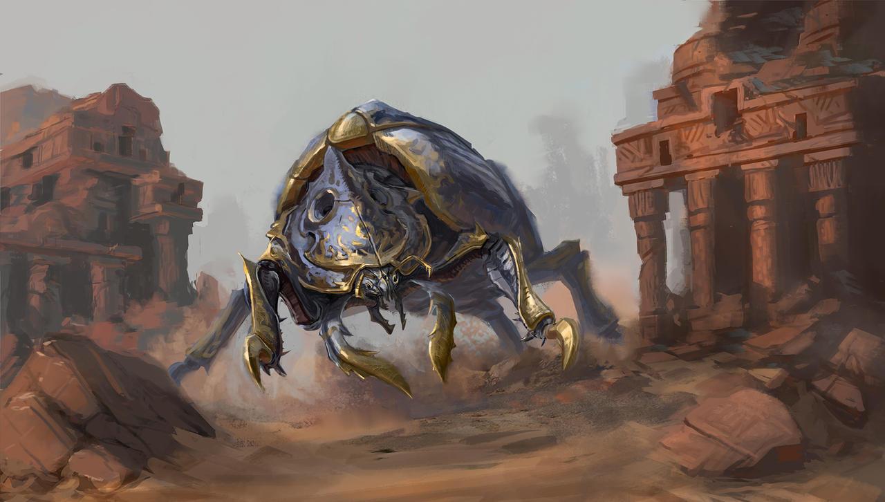 Ancient Beetle Guardian