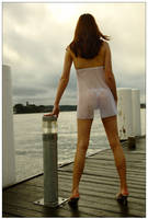 Kathryn waiting for ferry 1 by wildplaces
