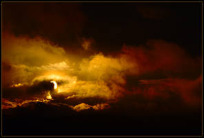 Sun sets in Hades 1 by wildplaces