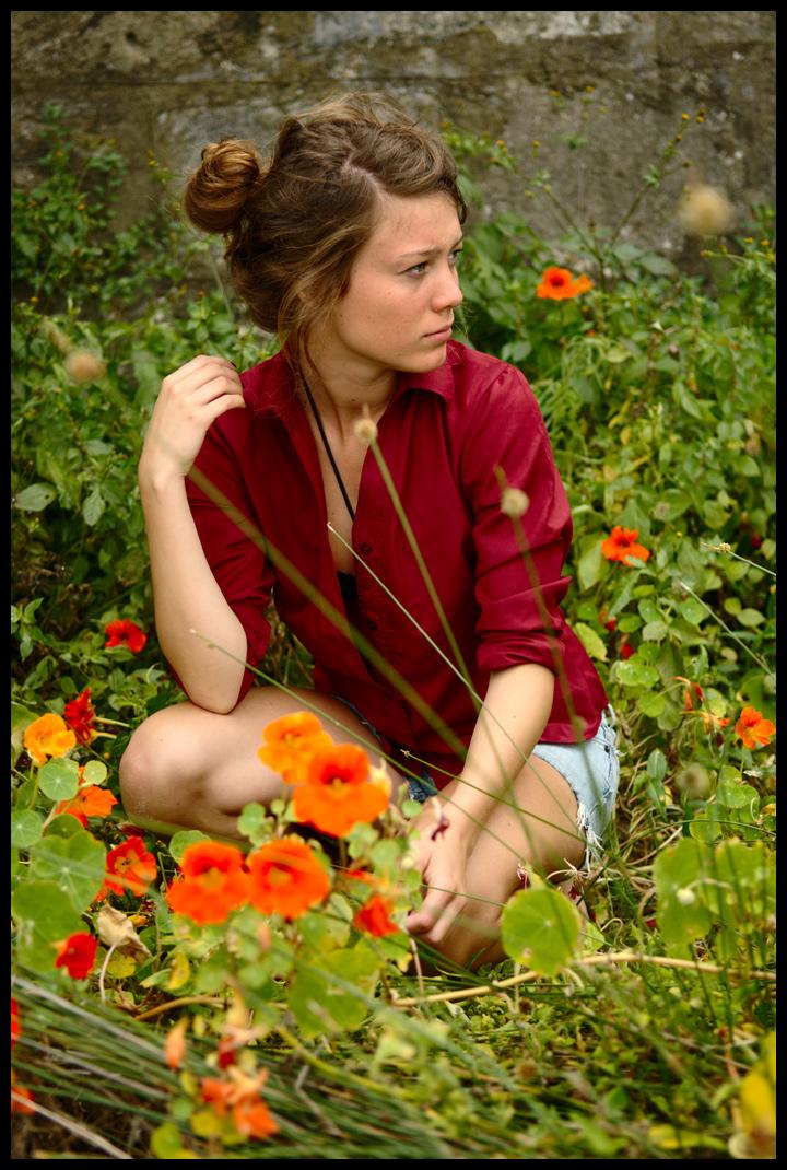 Marie - nasturtiums 3 by wildplaces