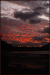 Volcanic sunset - Wedge Island by wildplaces