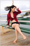 Emma - windy jetty
