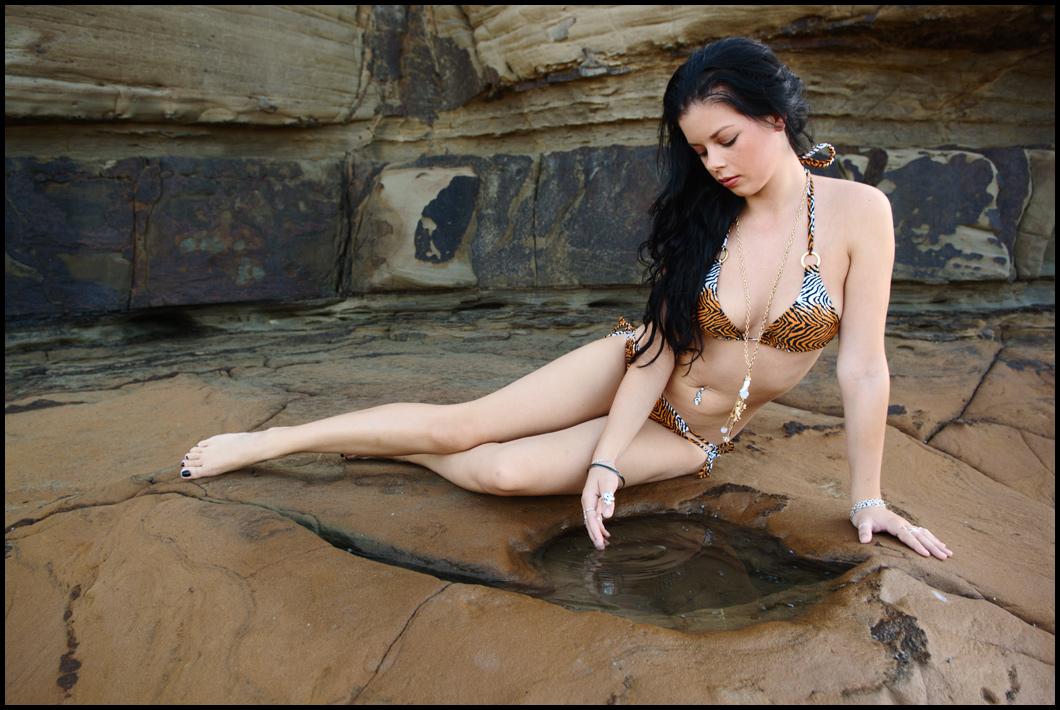 Stacey - rock pool 1 by wildplaces