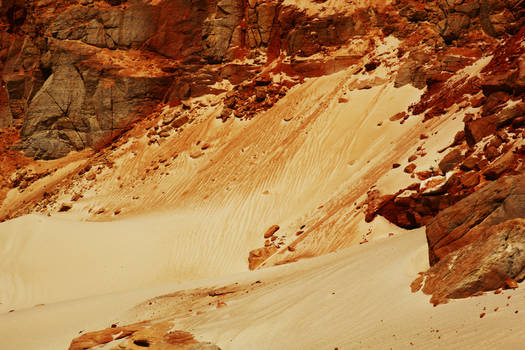 Coloured sands of Cape Leveque