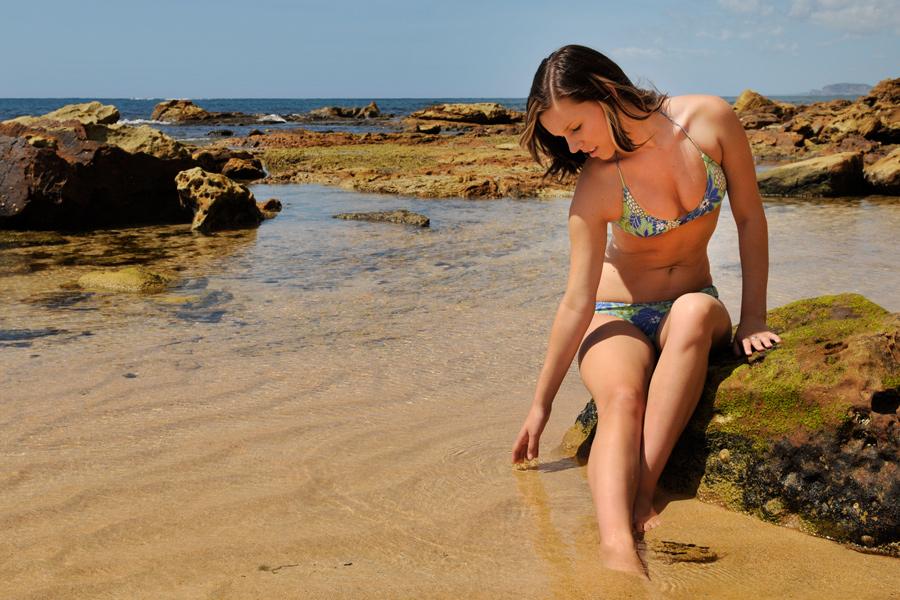 Lauren - beach pool 1 by wildplaces
