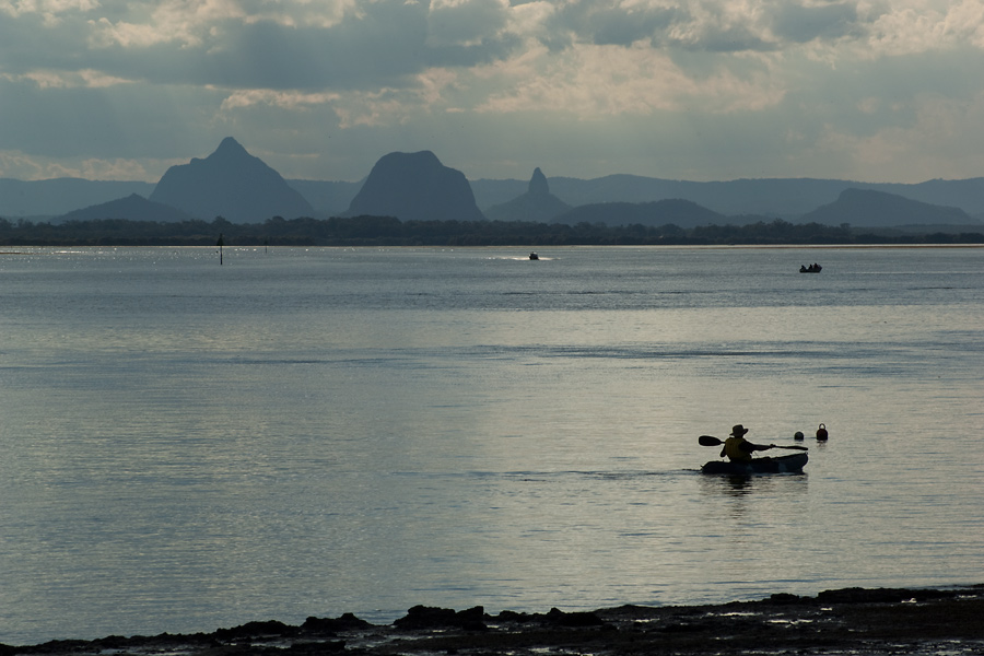 Boating the Bribie channel by wildplaces