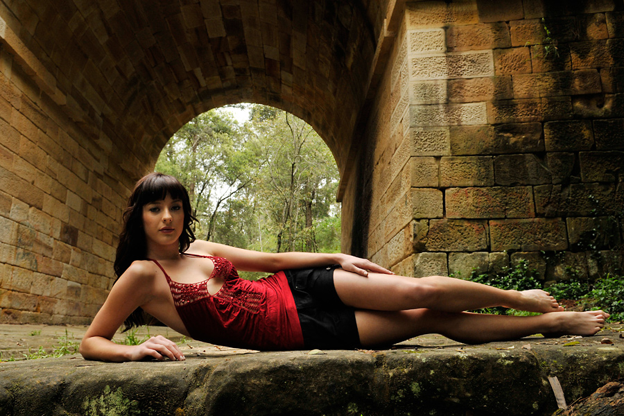 Louise under the bridge 1 by wildplaces