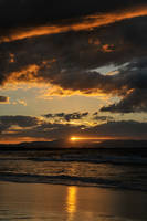 Sunset clouds 1 - Byron Bay by wildplaces