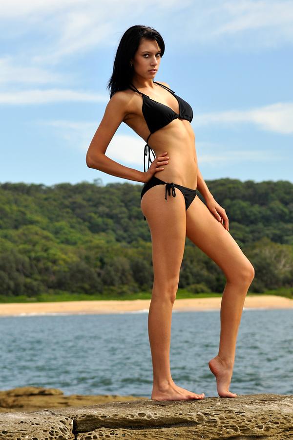 Teigan - black bikini pose 2 by wildplaces