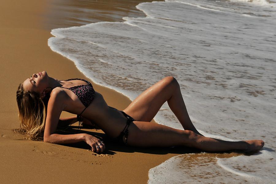 Brooke - bikini on sand 1 by wildplaces