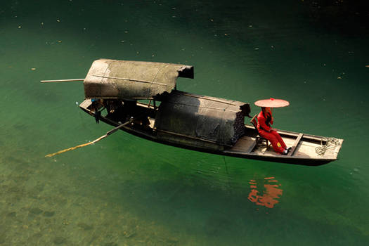 Traditional Chinese boat 1