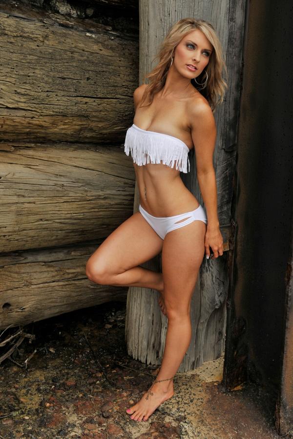 Lisa W - white fringe bikini 2 by wildplaces