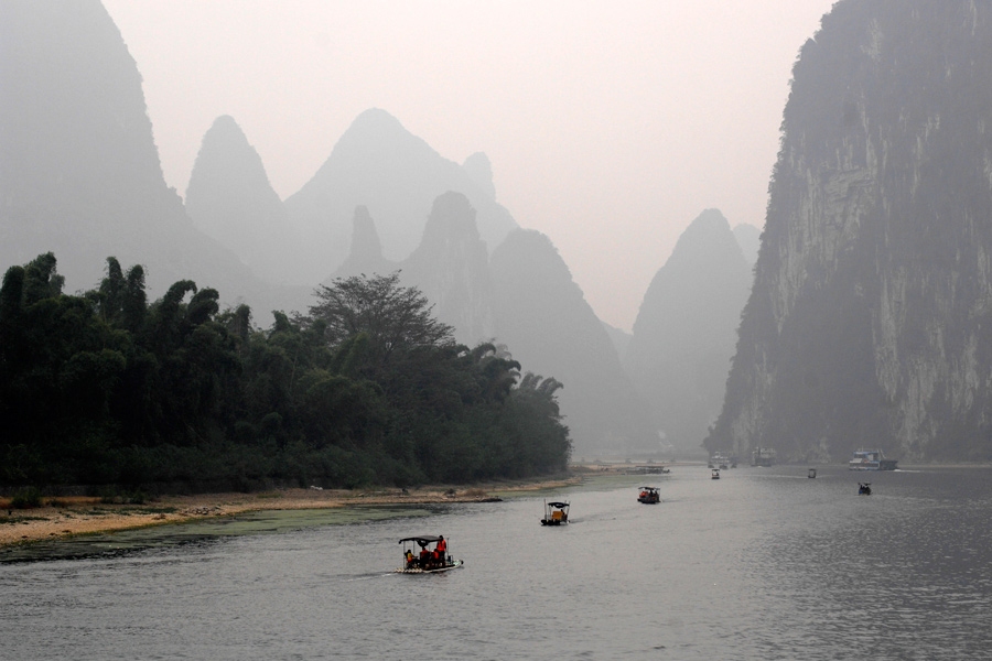Cruising the Li River 1 by wildplaces