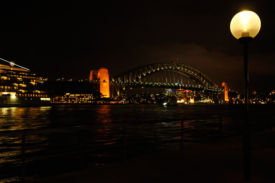 Sydney harbour lights 1 by wildplaces