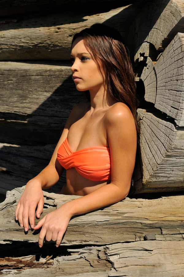 Annali - orange bikini 3 by wildplaces