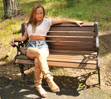 Maria - park bench 1 by wildplaces