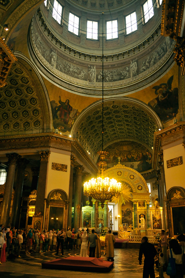 Kazansky Cathedral interior 1 by wildplaces