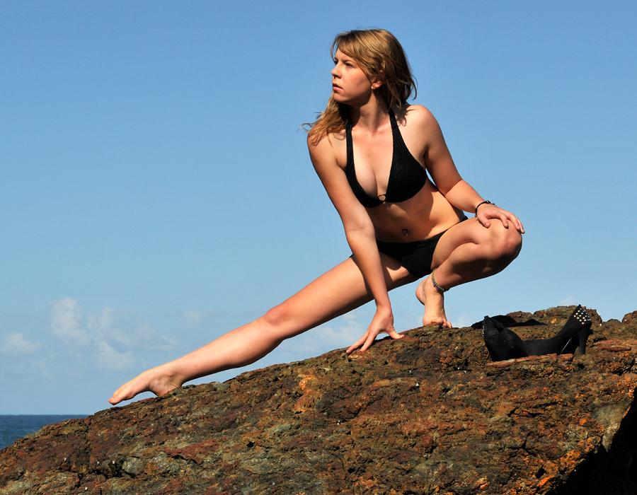 Talya - bikini against sky 1 by wildplaces