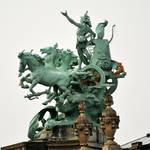 Palace roof sculpture 1, Paris
