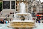 Fountain - Trafalgar Square 1