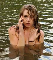 Riley Jade - half submerged 1 by wildplaces
