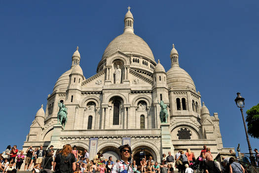 Sunlight on Sacre Coeur