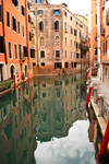 Venice - canal reflections 5
