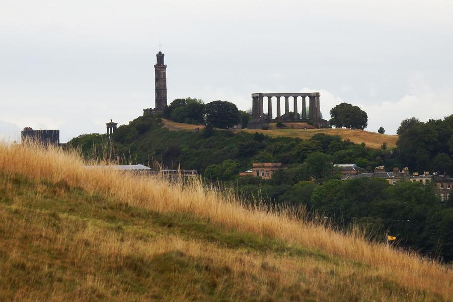 Overlooking Edinburgh 1 by wildplaces