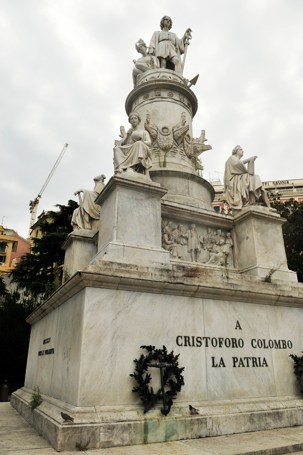 Columbus monument - Genoa by wildplaces